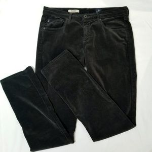 AG Adriano Goldschmied Charcoal Stevie Corduroy